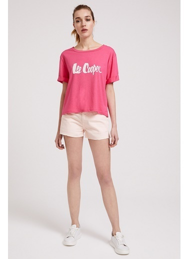 Lee Cooper Tişört Fuşya